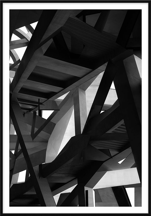 Birds Nest, 2014, 230 x 161cm (90,5 x 63,4 in) [architects: Herzog & de Meuron]