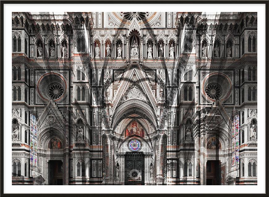 Florenz, 2017, 166 x 228,5cm (65,4 x 90,1 inches)