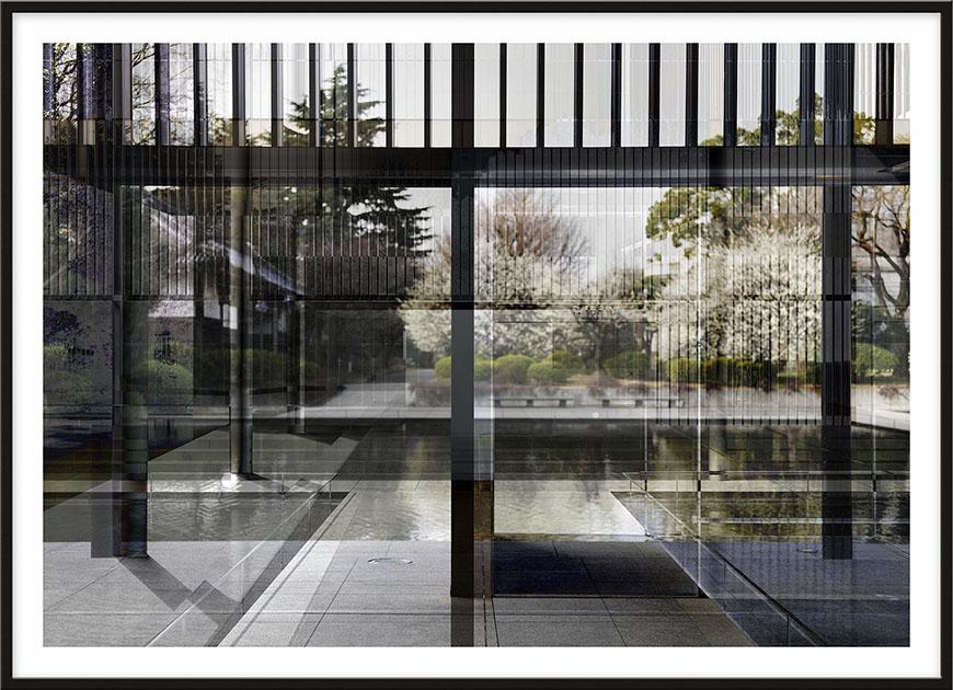 The Museum, 2014, 160 x 221 cm (63 x 87 inches) [architect: Yoshio Taniguchi]