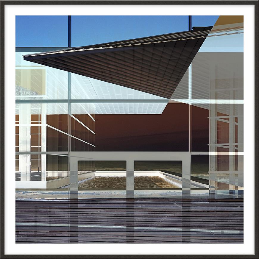 Baigorri, 2005, 180 x 180 cm (71 x 71 inches) [architect: Iñaki Aspiazu]