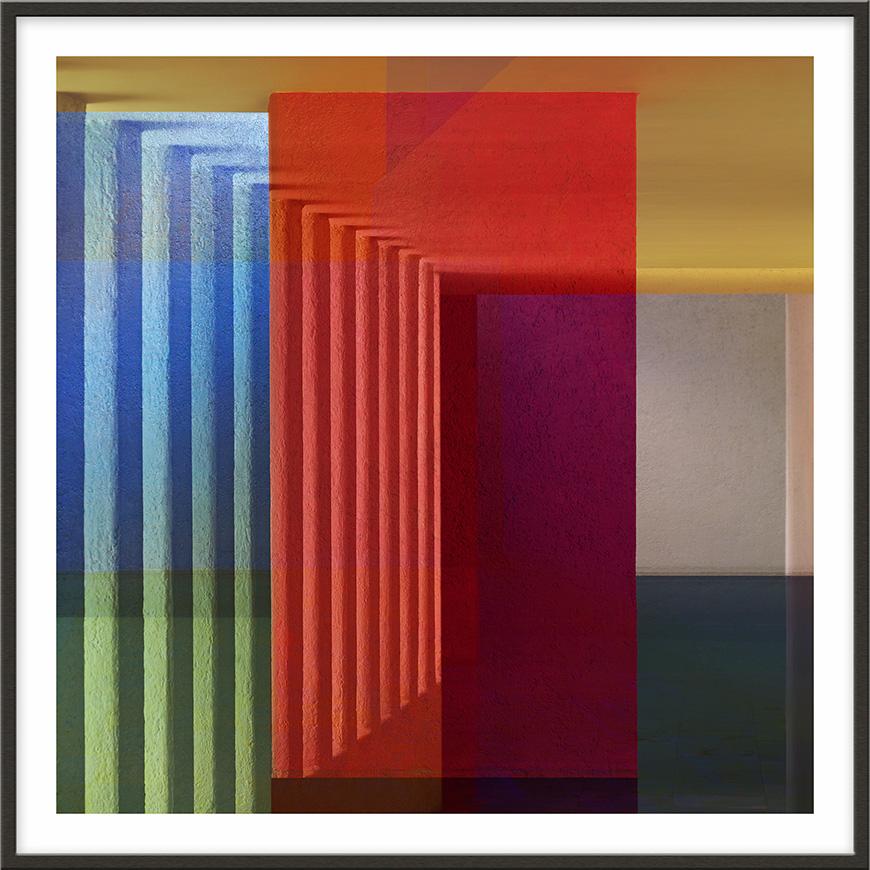 Mexico, 2009, 180 x 180 cm (71 x 71 inches) [architect: Luis Barragán]