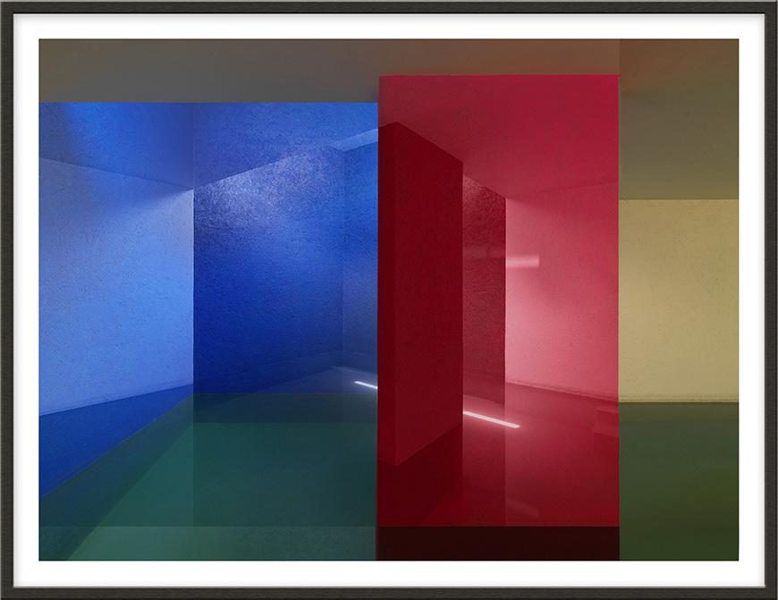 Casa Gilardi, 2008, 160 x 209,5 cm (63 x 82 1/2 inches) [architect: Luis Barragán]